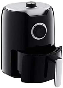 BHPL 2.1-Qt Air Fryer with Shelves, Personal Compact Space Saving Electric Hot Air Fryer Oil-Less Healthy Cooker, Timer & Temperature Controls
