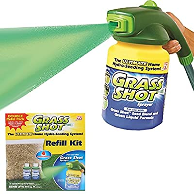 Grass Shot Ultimate Refill Kit, 700sq Feet Coverage