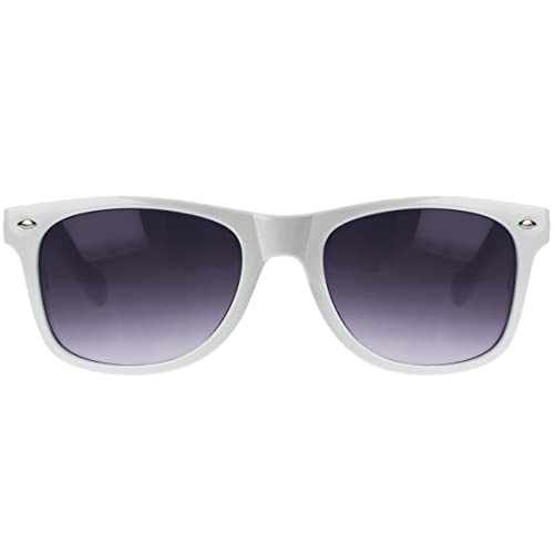 Oramics ® nero retrò occhiali da sole Wayfarer secchione occhiali chiaro e nero