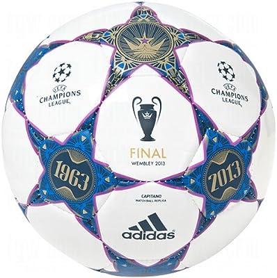 adidas Finale Wembley Capitano Balón de 4: Amazon.es: Deportes y ...