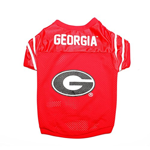 Pet Goods NCAA Georgia Bulldogs Collegiate Pet Jersey, Large