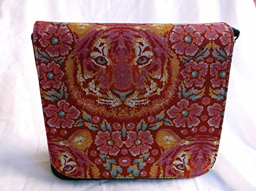 Love Lion Face Messenger Bag By Gifts and Beads by Gifts and Beads
