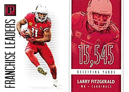 2018 Panini Franchise Leaders  9 Larry Fitzgerald Cardinals NFL Football  Card NM-MT 116a65d3c