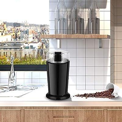 Costway Molinillo de café eléctrico, universal, acero inoxidable ...