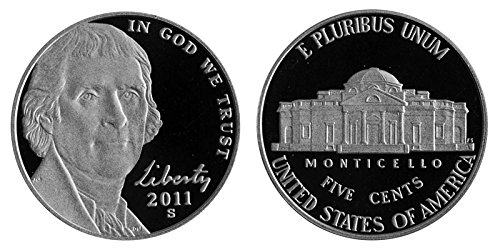 2011 S Proof Jefferson Nickel PF1
