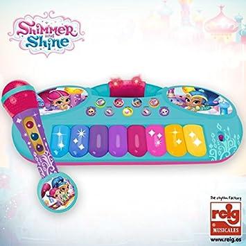 Shimmer & Shine Set micrófono y órgano (Claudio Reig 3519)