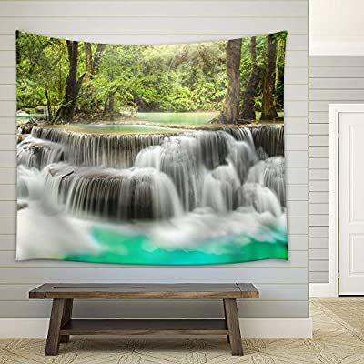 Premium Product, Grand Print, Cascading Waterfalls in The Forest