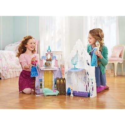 Disney Frozen Castle & Ice Palace Playset: Toys & Games