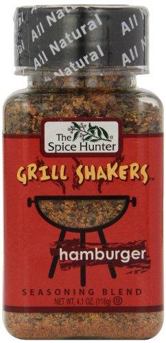 (The Spice Hunter Hamburger Rub Grill Shaker, 4.1-Ounce Jar )