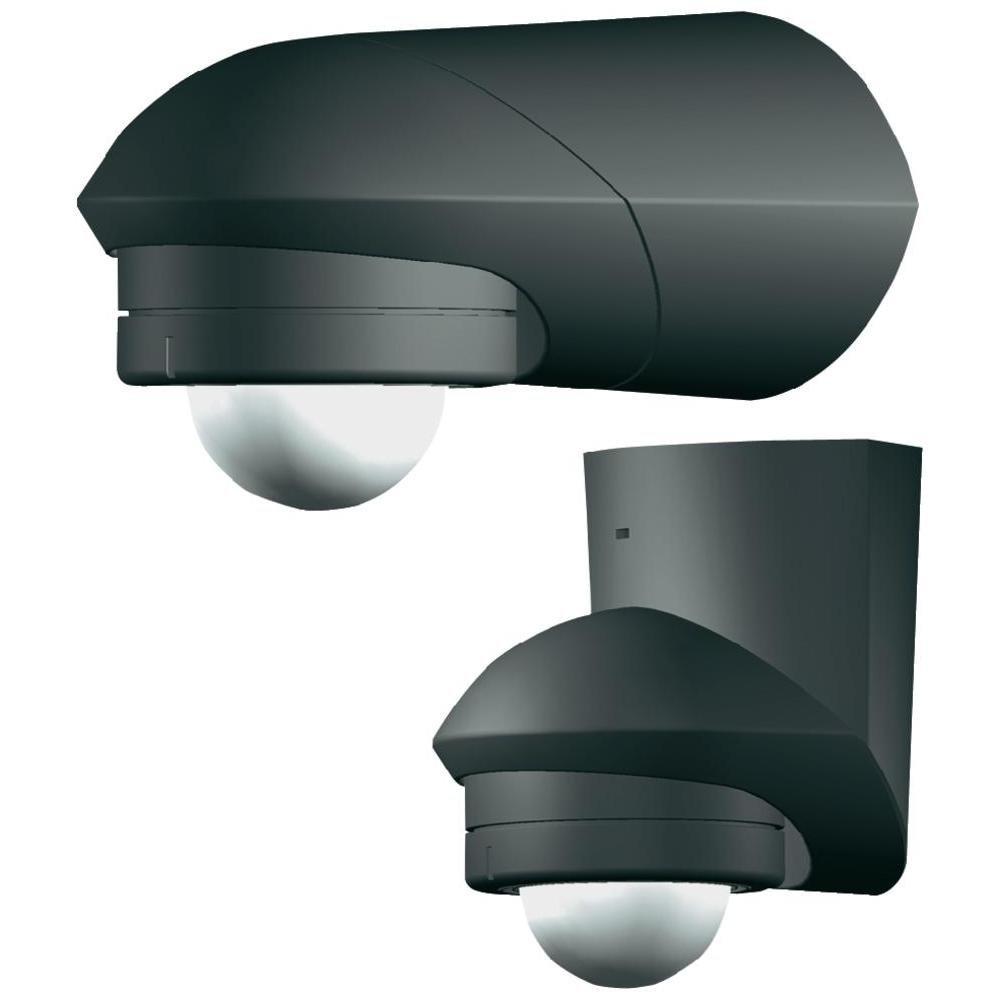 Grothe 5167043 D/étecteur de Mouvement 240 /° C 230V MC Guard Pro BM 240SW IP55 Noir Montage en Surface