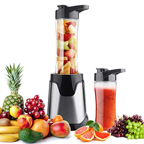 YUKICARE Personal Small Blender Smoothie Maker, Portable Single Serve Electric Blender for Smoothies, Shakes, Frozen Fruit and Baby Food, with Travel Lid and Tritan Travel Sport Bottle, BPA-Free Review