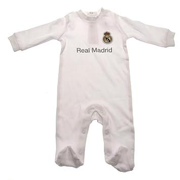 Pijama para niños de 6 a 9 meses de Real Madrid F.C. mercadería ...