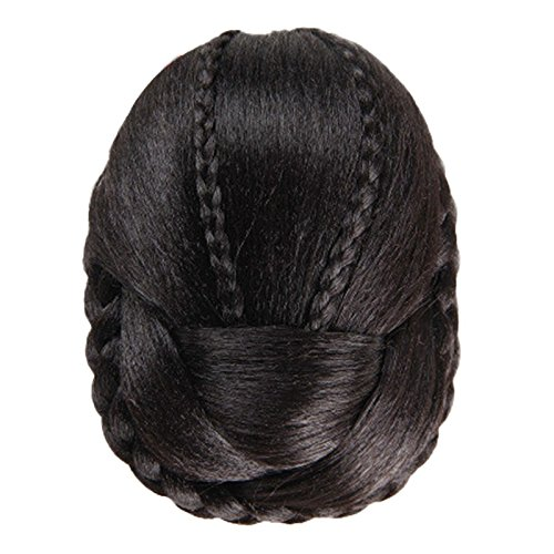 Lace Front Wig Deep Part Loose Wave Human Hair Wigs with Baby Hair Pre-plucked Hairline Lace Front Wigs for Black Women Natural Color Density (c)]()