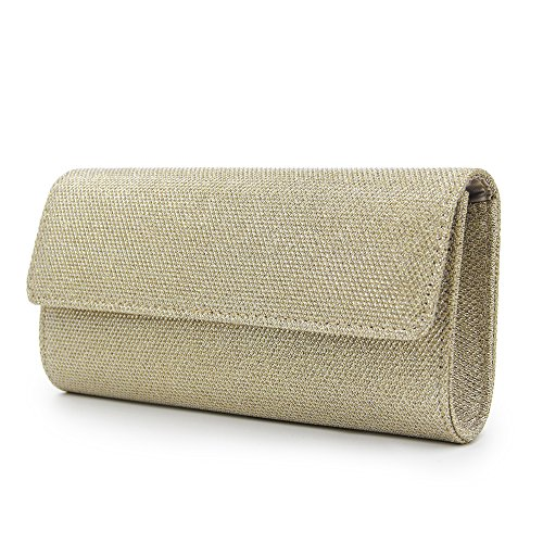 Milisente Clutch Bags Chain Bag Women Purse Or Elegant Shoulder Sequins Clutch Evening 77TRxwqnr