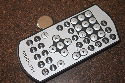 MEMOREX MVDP1078 GENUINE Remote Control With Battery For