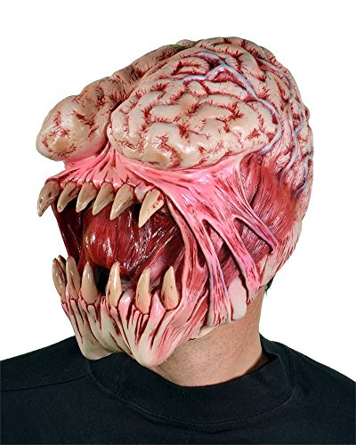 Zagone Brain Eater Mask, Monster, Creature Exposed (Max Penny Halloween Costume)