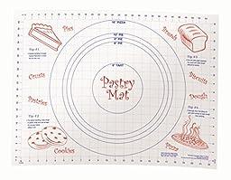 Conimar Kitchen Non-Slip Helper Pastry Mat, 18 by 24-Inch