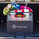 Fletcher Jones Motorcars Trunk Organizer, Compatible with All Mercedes-Benz Vehicles. Large Collapsible Auto Storage Fits All Makes and Models.