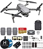 DJI Mavic 2 Zoom Fly More Combo Deluxe Bundle, 3 Batteries, Charging Hub, Extra Landing Pad and Extreme...