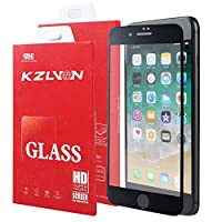 KZLVN iPhone 7/iPhone 8 Screen Protector-[3D Curved] Full Coverage 9H Hardness Tempered Glass for Apple iPhone 8 4.7 inch 2017 and Apple iPhone 7 4.7 inch 2016.[3D Touch Compatible] from KZLVN