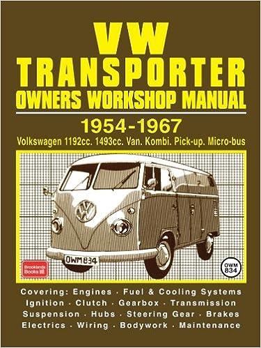 Volkswagen Workshop Manual: Vw Transporter 1954-67: Part No Owm834: Amazon.es: R. M. Clarke: Libros en idiomas extranjeros