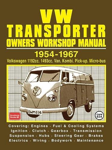 vw transporter owner s workshop manual 1954 1967 r m clarke rh amazon com Sequential Manual Transmission VW Shifter