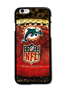 Tomhousomick Custom Design The NFL Team Miami Dolphins Case Cover For iPhone 6 Plus 5.5 inch Personality Phone Cases Covers