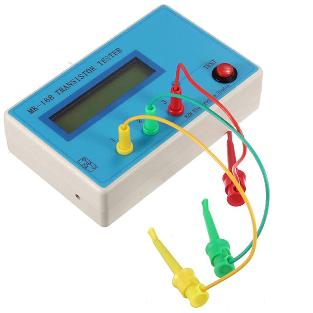 Mk 168 Transistor Tester Diode Triode Esr Rlc Lcr Meter Npn Pnp Mos Diy Tools