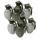 Toy Pineapple Hand Grenades with Sound Effects - 8 Pack