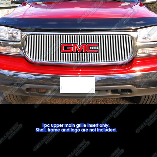 APS Compatible with 1999-2002 GMC Sierra 1500 2500 2001-2006 GMC Yukon Perimeter Grille Insert S18-U30759G