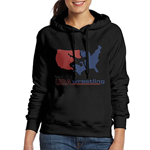 WWSniceT USA Wrestling Personalized Woman Hooded Clothes by WWSniceT