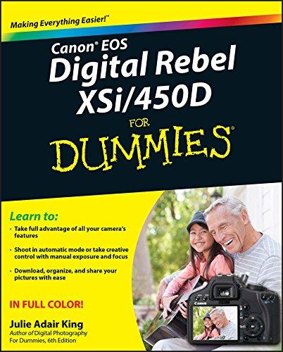 (Canon EOS Digital Rebel XSi/450D For Dummies)