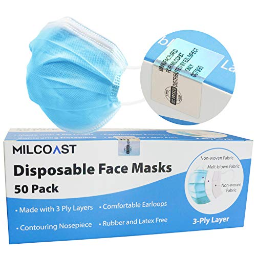 Milcoast 3-Ply Layer Disposable
