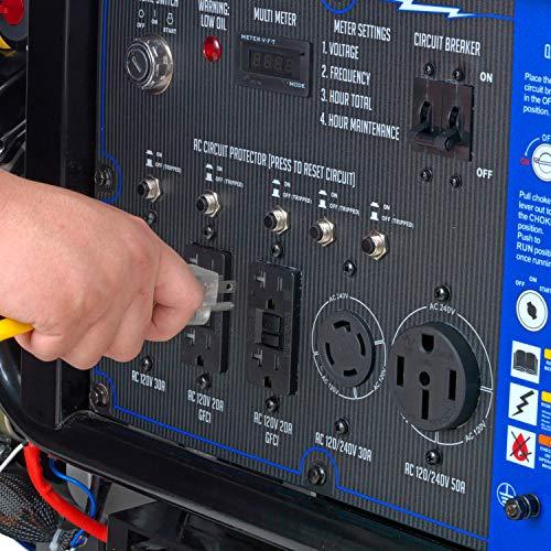 DuroMax XP15000EH 15,000 Starting Watts/12,000 Running Watts Dual