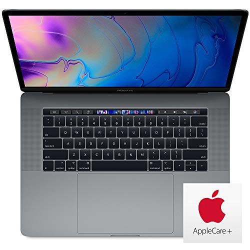 Apple MacBook Pro with AppleCare+ (15 Inch, Z0WV0005Y, 2.4GHz 8-core 9th-gen Core i9, 1TB, 32GB RAM, 560X GPU) Space Gray (Mid 2019)