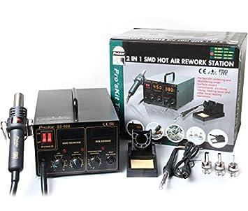 Estación repair de soldadura y aire caliente para SMD: Amazon.es: Electrónica
