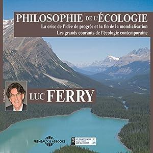 Philosophie de l'écologie Hörbuch