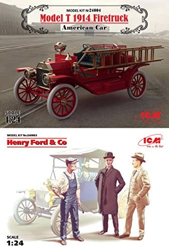 1//24 3 figures ICM 24003 Henry Ford /& Co