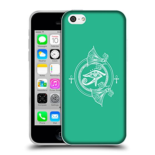 GoGoMobile Coque de Protection TPU Silicone Case pour // Q09920626 Religion 32 Caraïbes Vert // Apple iPhone 5C