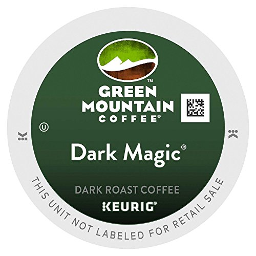 - Green Mountain Coffee, Dark Magic (Extra Bold), 72-Count K-Cups for Keurig Brewers