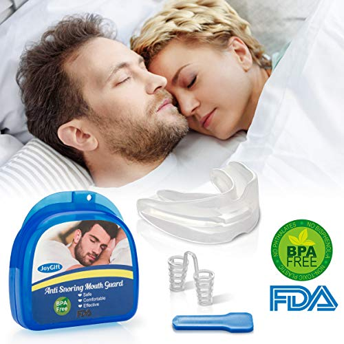 Anti Snoring Mouth Guard, Anti Snoring Devices Snore Solution Anti Snoring Mouthpiece for Sleep Aids Bruxism Snore Reduction Stop Snoring Devices Best Snoring Stopper Snoring Reducing Mouthpiece by Topffy (Image #9)