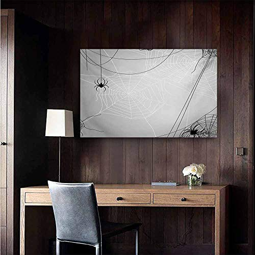 duommhome Spider Web Light Luxury American Oil Painting Spiders Hanging from Webs Halloween Inspired Design Dangerous Cartoon Icon Home and Everything 47
