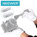 Neewer 24 Pairs (48 Gloves) 100% Cotton Lisle White Inspection Work Gloves for Coin, Jewelry, Silver, or Photo Inspection