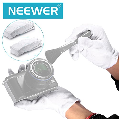 Neewer 24 Pairs (48 Gloves) 100% Cotton Lisle White Inspection Work Gloves for Coin, Jewelry, Silver, or Photo Inspection by Neewer (Image #6)