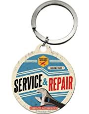 Nostalgic-Art-S Corner Biker'&Repair Service Key Ring Diameter 4 CM