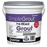 Custom PMG1651 1-Gallon Simple Premium Grout, Delorean Gray