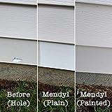 Mendyl Vinyl Siding Repair Kit, Cover Any Cracks, Holes, or Blemishes on Vinyl Siding - 2 Patches