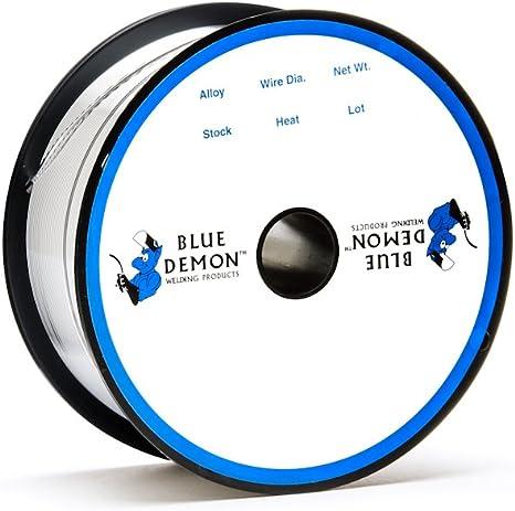 ER1100 X .030 X 1 lb Spool MIG Blue Demon aluminum welding wire free shipping
