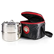 2 Tier Insulated Tiffin with Thermo Insulated Bag