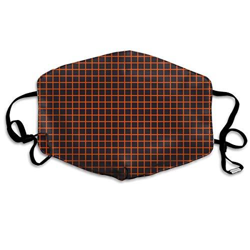 Halloween Math Notebook Grid Orange Anti Dust Mask